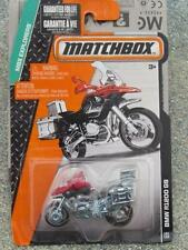 Matchbox 2015 #101/120 BMW R1200 GS red/silver MBX EXPLORERS Long US Card