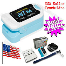 USA Seller OLED Portable Fingertip Pulse Oximeter SPO2 Heart Rate Monitor PR FDA