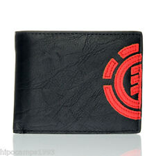 Cartera de piel sintética Element Daily Wallet 6761 Fire Red