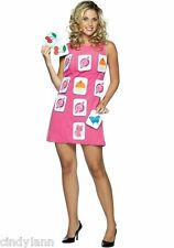 MAKE-A-MATCH INTERACTIVE GAME HALLOWEEN COSTUME WOMENS 4 - 10