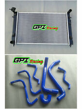 RADIATOR HOLDEN COMMODORE VT (SERIES 1 AND 2) VX V6 MANUAL + blue HOSE