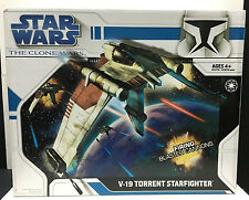 [61274] 2008 STAR WARS THE CLONE WARS V-19 TORRENT STARFIGHTER BOXED SET