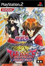 Used PS2 Yu-Gi-Oh Dual Monsters GX: Tag Force Evolution Japan Import