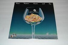California Slim~Wine, Women, Roses and You~1982 Private Press~FAST SHIIPPING