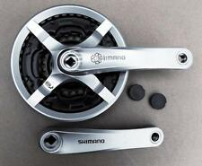 2017 Shimano MTB Triple Crank set Crankset 24/34/42, 170mm alloy cranks FCTY501