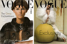 VOGUE ITALIA 631 Testino Munro MANNISH ALLURE Lindbergh Weber LINDVALL HURLEY