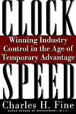 Clockspeed: Winning Industry Control In The Age Of Temporary Advantage, Fine, Ch