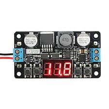 DROK  Voltage Regulator Voltmeter Buck Converter LM2596 DC 5 12V Adjustable Volt