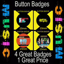 BOWLING FOR SOUP - 4 GREAT BUTTON BADGES - 25mm -CD4567