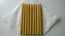 Happy Easter Candles Classic, 100% Natural, Pure Beeswax, handmade, 10 units