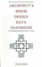 Architect's Room Design Data Handbook by Fred A. Stitt (1992, Hardcover)