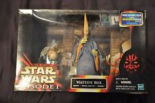 Star Wars Episode I The Phantom Menace Watto's Box Watto Graxol Kelvyyn & Shakka