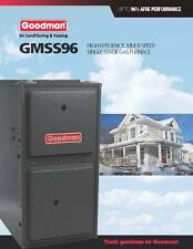Goodman 96% Single Stage 60K BTU Gas Furnace 3 Ton GMSS960603BN