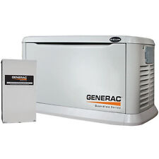 Generac Guardian 22kW Aluminum Standby Generator System (200A Service Disconn...