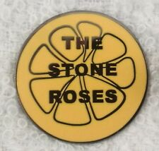 Stone Roses 'Lemon' enamel badge. Casual Connoisseur, Ultras, Hooligan, Firm.