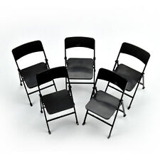 5pcs 1/6 Scale Action Figure Folding Chair for Hot Toy the Ultimate Soldier BBI