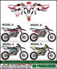 kit adesivi stickers compatibili SXV RXV 450 550 RACING