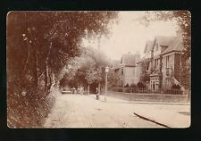 Somerset BURNHAM Berrow Rd Used 1904 hand delivery carts c1900/10s? RP PPC