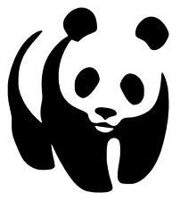 Black Panda  Decal / Sticker for Car