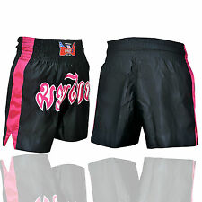 MUAY THAI SATIN KICK BOXING SHORTS MARTIAL ARTS NEW GRAPPLING KICK SHORTS UFC