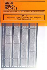 Gold Medal Models 160-2 – Chain Link Fence Extension – N Scale