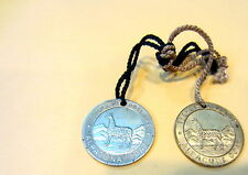 Alpacuna Coat Token With Cord