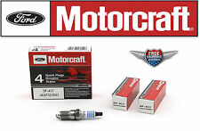 6 Motorcraft Spark Plug SP417 with Dielectric Grease & Anti-Size Lubricant