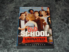 Old School (DVD, 2003, Widescreen; Unrated Version)