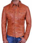 Mens Leather Biker Jacket New with Tags 100% Real Leather Brando XSmall-4XL BNWT
