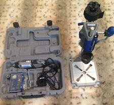 DREMEL 3000 Rotary Tool and Workstation with extra pieces