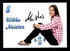 Wibke Meister Autogrammkarte 1 FFC Turbine Potsdam 2013-14 Original + A 130016