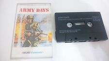 ARMY DAYS JUEGO CASSETTE COMMODORE 64 128 CMB 64 C64 PAL