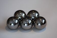 """FIVE   1/2"""" Inch  440C Stainless Steel Ball Bearings  (5 balls)"""