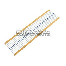 ***Hobby Components UK*** 100K 1/4 Watt Resistors (Pack of 50)