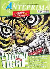 Rivista Anteprima n. 257 gennaio 2013 - Uomo tigre; Omaggio: poster di Blood C
