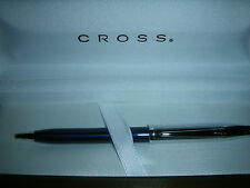 Cross Century II, Chrome and Translucent Blue BP Pen