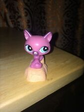 Hasbro Littlest Pet Shop LPS Toy Kitty Cat A12 for McDonalds Buy 3 Get 4th Free