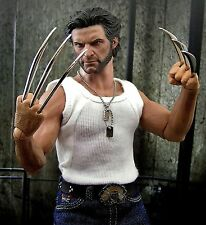 1/6 Wolverine Metal Claw Hands Realistic Hair Fist Steel Talons For Hot Toy