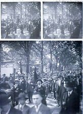 1 photo stereo 1924 LE MUR DES FEDERES / stereoview