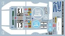 DECALS 1/24 FORD ESCORT MK1 - #13 - MAKINEN - RAC RALLY 1973  - COLORADO  24161