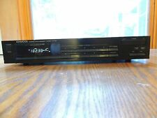 Kenwood Stereo synthesizer Tuner KT-57