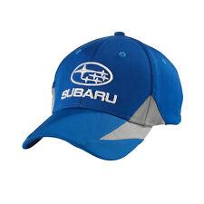 SUBARU Royal Cap Hat Genuine Sti Rally Racing WRX Sti Impreza Forester New +blue