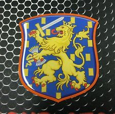 Holland Coat of Arm Shield Dutch Netherland Proud Domed Decal Emblem Sticker ~3""