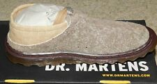 NEW PAIR OF DR MARTENS ERICA CLOG US WOMENS SZ 6 SHOES NEW OLD STOCK BROWN /BLCK