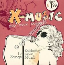 CD: X-MUSIC - Pop-Rock-Worship 09/2013 - 15 Songs -Pop-Rock-Worship *NEU*