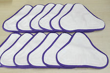 12 New Steam Mop Microfibre pads Non-Branded But Suitable For H2O H20 X5 Model