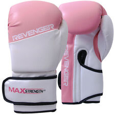 Boxing Gloves Fight Punch Bag Mitt MMA Muay Thai Grappling Pads Rex Leather UFC