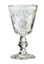 NWT ~ Set of 2 ~ GLOBAL AMICI FIORE Water Goblets Glasses ~ 8oz