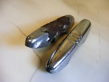 Vintage Pair of 1940 1941 Ford Pickup Front Bumper Guards