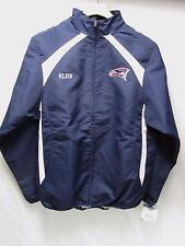Russell New England Patriots Klein Navy Polyester Zip Front Jacket Men's S M9